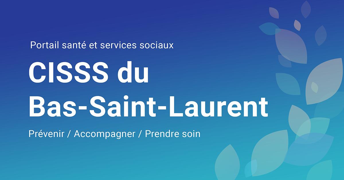 Saint Intégré Sociaux Centre Santé Du De Bas Laurent Services Et uOkXiTPZ